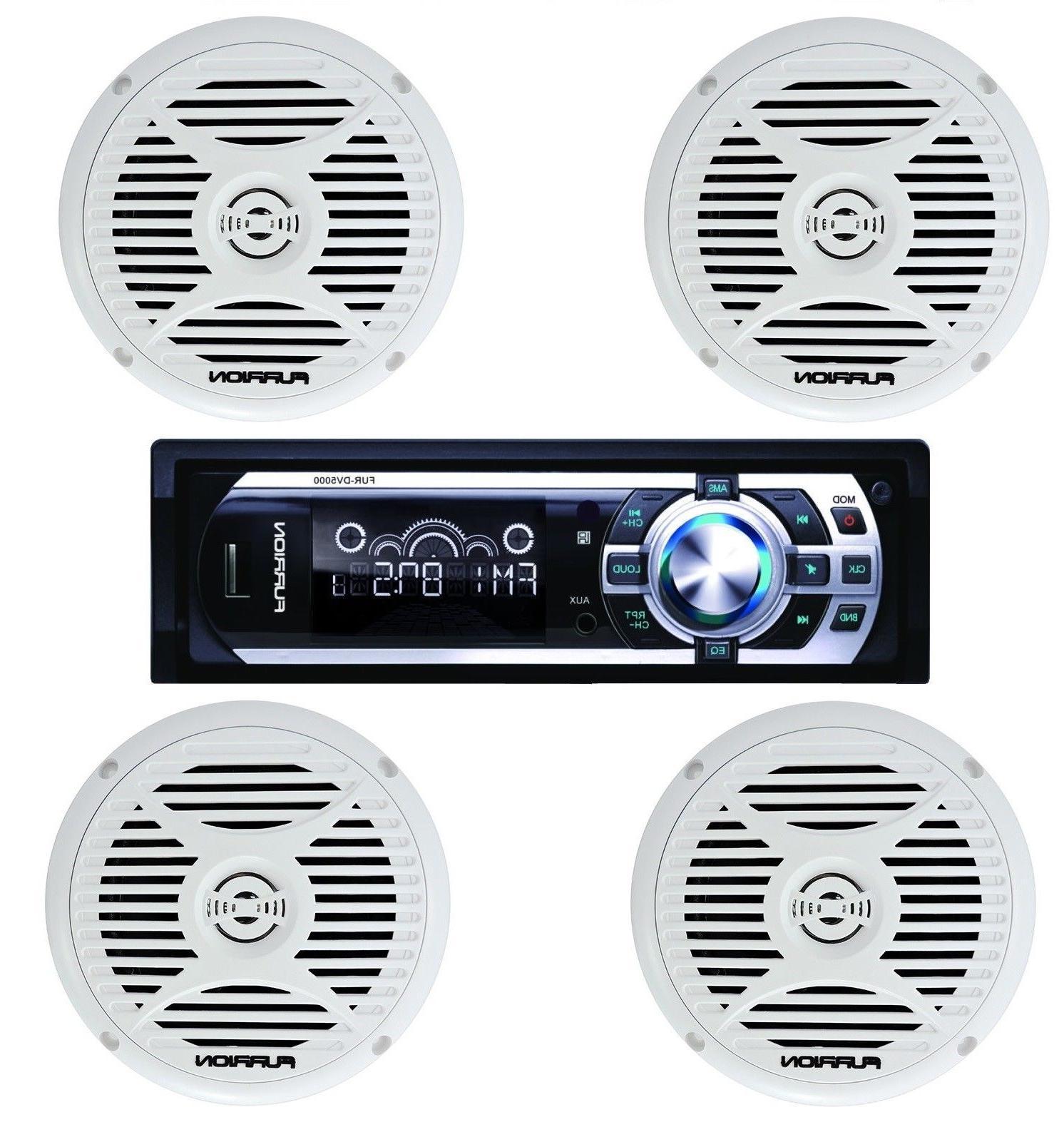 "NEW Furrion DV5000 AM FM Radio CD Player Car Stereo w/  5"" M"