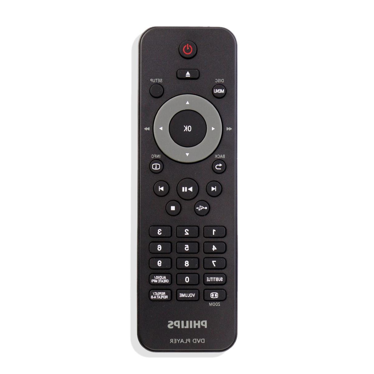 New DVD Remote for Philips DVP4050 DVP6620 DVP3520K DVP3560K