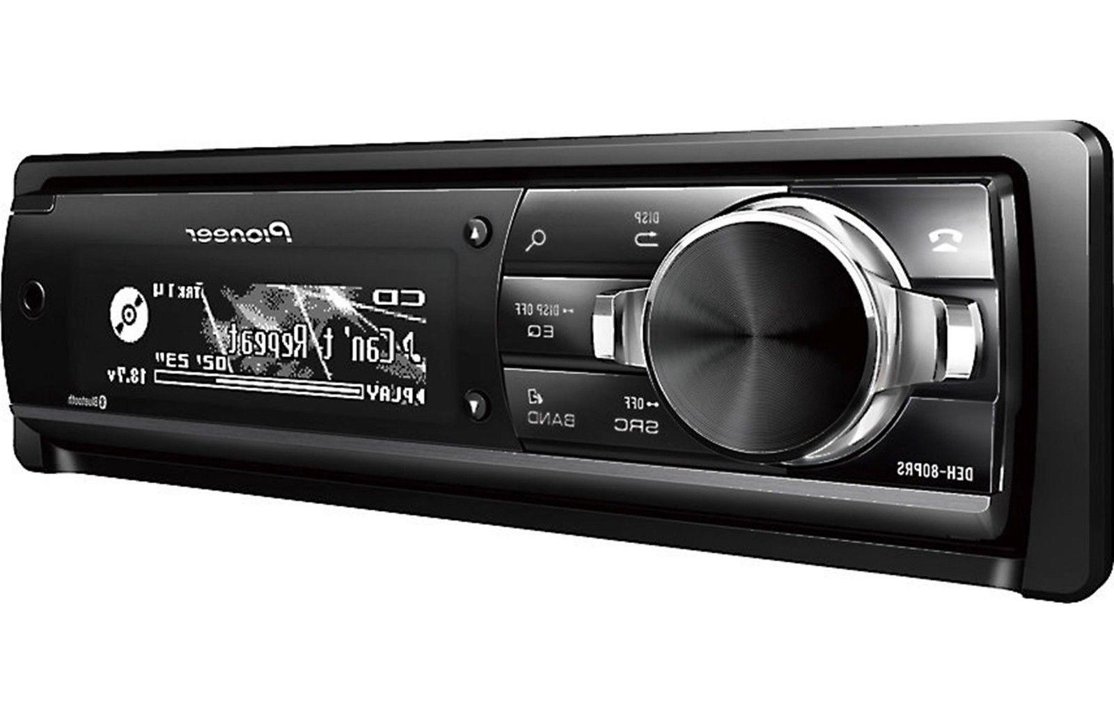 New DEH-80PRS Audiophile CD/MP3/WMA Player 16 Digital EQ Bluetooth