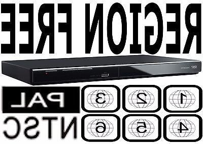 Panasonic All Region Code Free DVD Player! Plays PAL NTSC Di