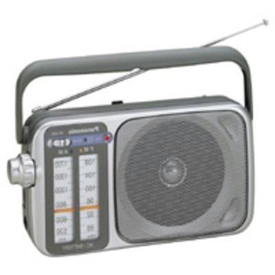 Panasonic RF-2400D AM/FM Radio, Silver