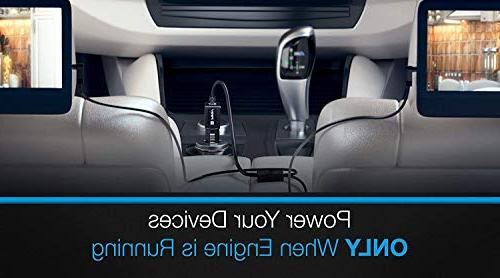 Pwr Extra Ft Car Charger for Dual Screen Portable Player Insignia Ematic: Ly-02 Ay4133