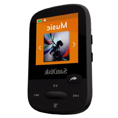 SanDisk Clip 8GB MP3 Player, With LCD Card