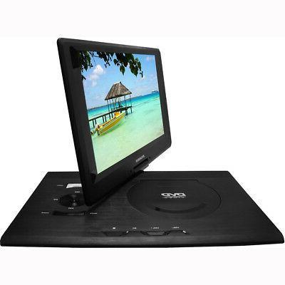 """Sylvania 13.3"""" Screen Portable Player USB/SD"""