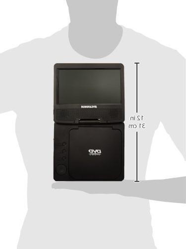 Sylvania Swivel Screen DVD Player Manufacturer Refurbished