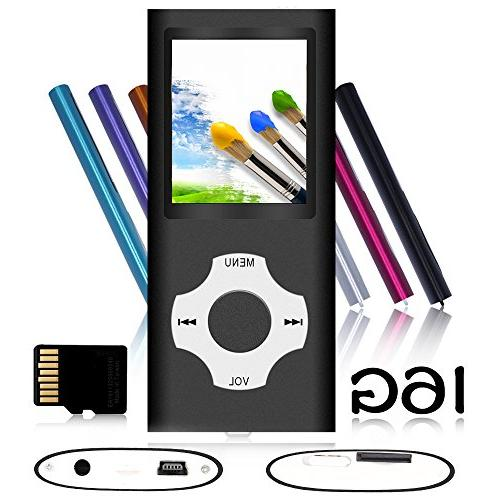 portable mp3 mp4 player with rhombic button