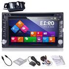 Touch Screen 2DIN In Dash GPS Nav Car DVD Player Bluetooth A