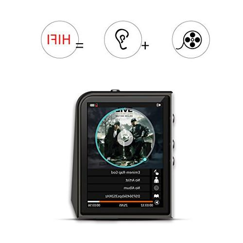 RUIZU Hi-Res MP3 Player DSD Supports up