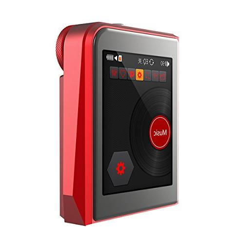 RUIZU Hi-Res Lossless MP3 Portable DSD Music Supports