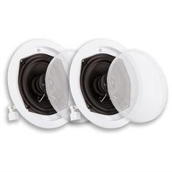 Acoustic Audio R-191 In Ceiling / In Wall Speaker Pair 2 Way