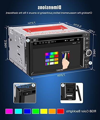 Stereo CD GPS, WiFi, RAM, Fastboot, Backup Camera, Auto, 128GB USB AUX, 6.2