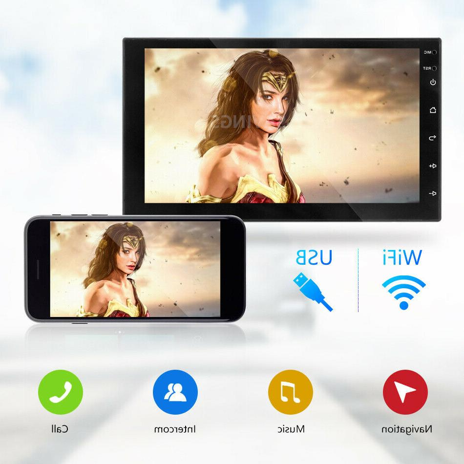"""Android 7"""" Double MP5 Player Stereo GPS"""