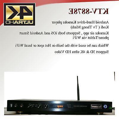 Android KTV-8878E Vietnamese karaoke player 6TB hard-drive 50000