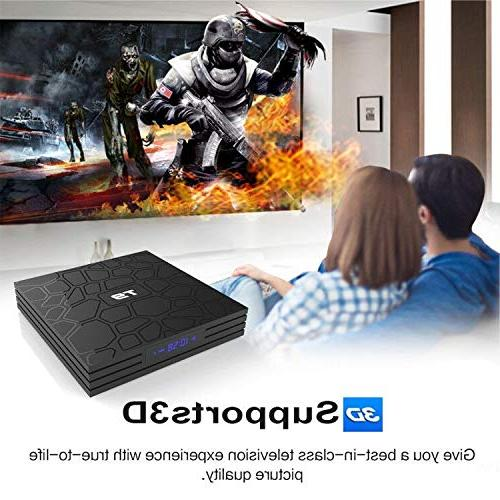 Android TV Box, HAOSIHD T9 Android TV RK3328 Full HD 2.4Ghz BT 4.1 Box