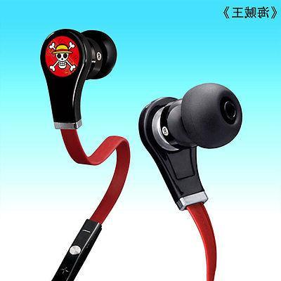 Anime Piece Skull In-ear Headphone Earbuds
