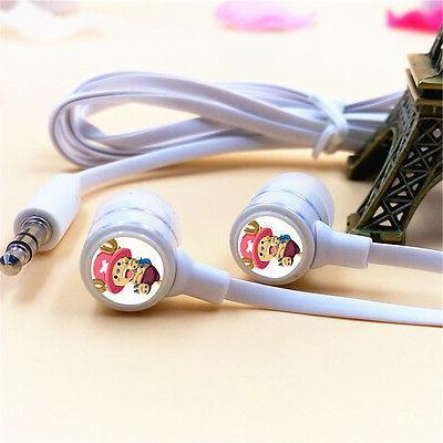 Anime One Piece Tony Chopper Stereo Headphone Earphone In-Ea