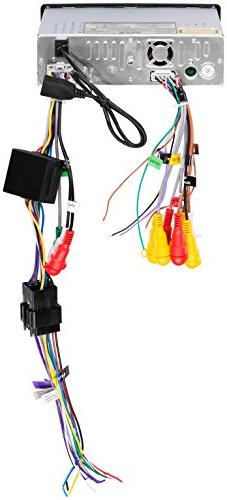 BOSS SINGLE-DIN MOTORIZED RECEIVER WITH