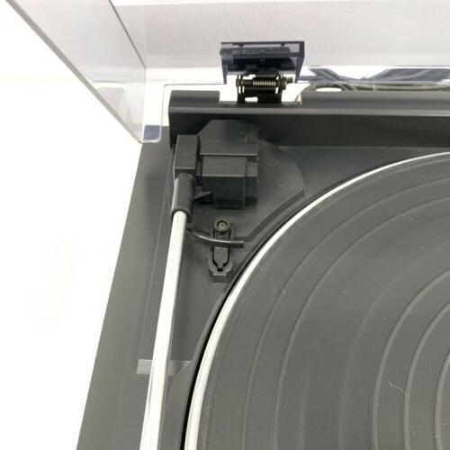 Audio Technica Turntable Dual Speed Tested