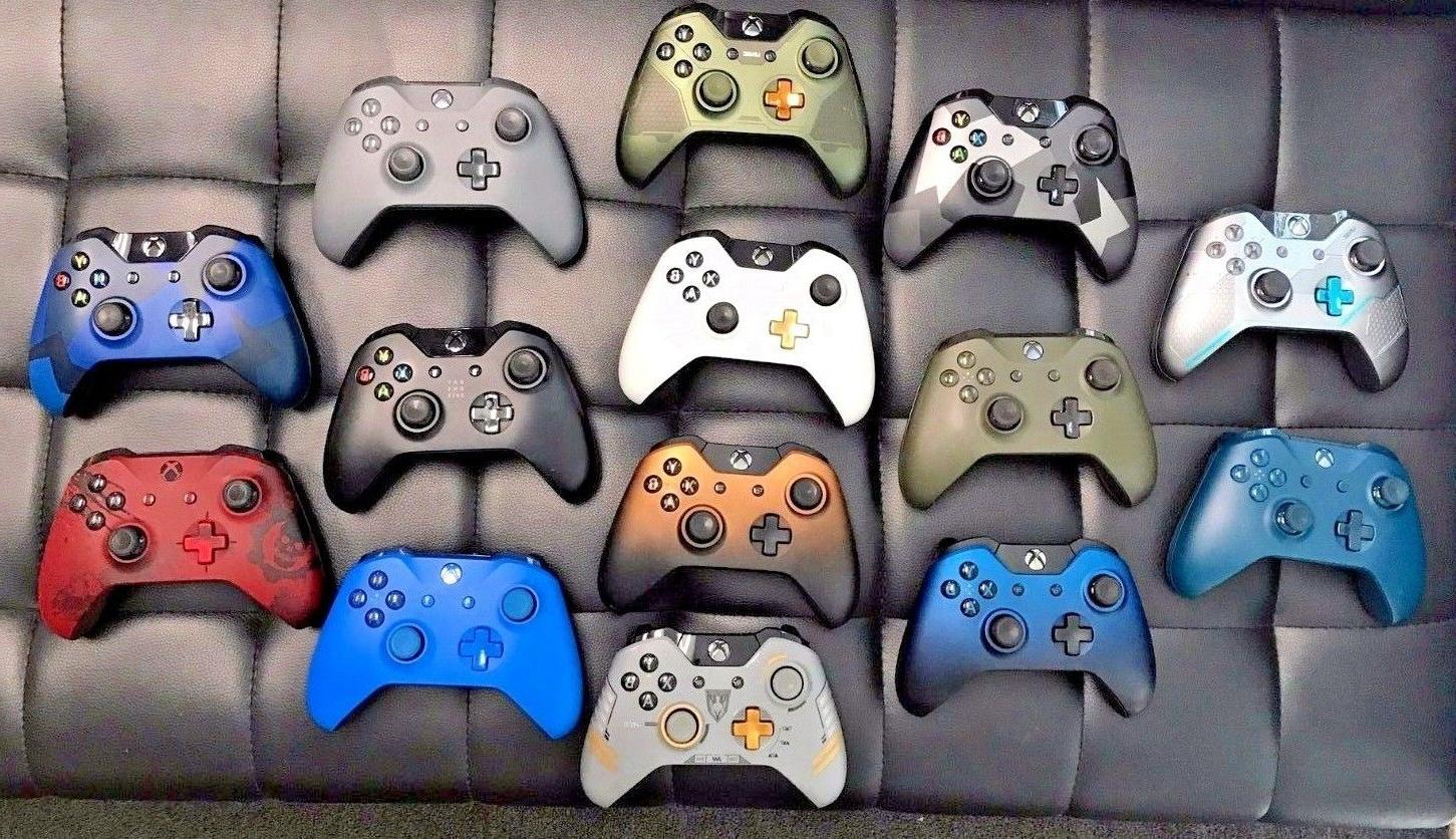authentic microsoft one s wireless controller gamepad