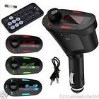 3.5mm AUX Multifunction Car FM Transmitter Kit MP3 Player Wi