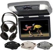 Audiovox AVXMTG10UA 10'' Overhead Monitor W/ Built-In DVD Pl
