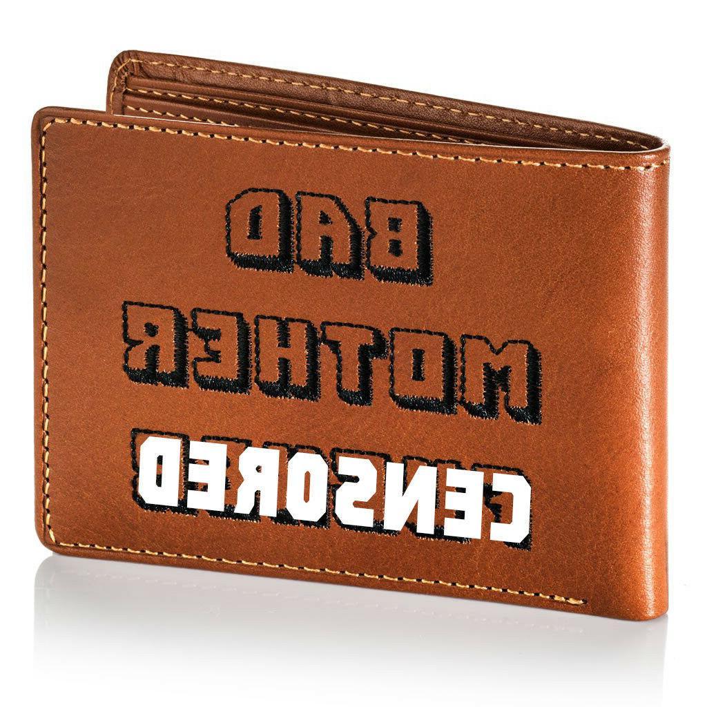 Joe Mother F*cker Genuine Leather Wallet - Edition