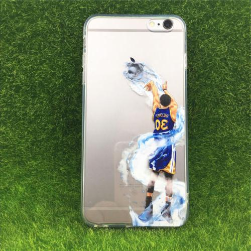Basketball Stephen Curry Silicone Phone case For iPhone Xs M