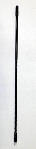 Astatic 2 Feet Black CB Antenna 833-2B - FiberGlass 3/8-24 b
