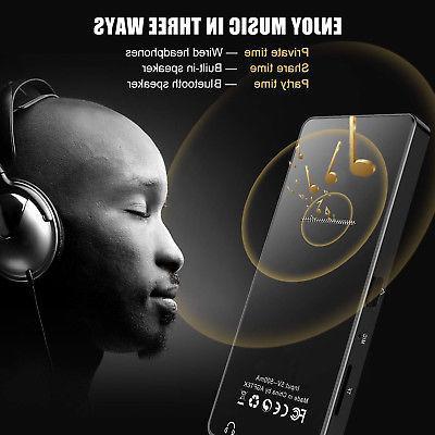 AGPtek Bluetooth Lossless Music Metal Player