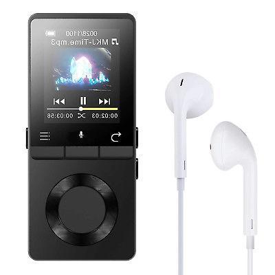 AGPtek Bluetooth 4.0 Lossless Music Metal Loud MP3 Player