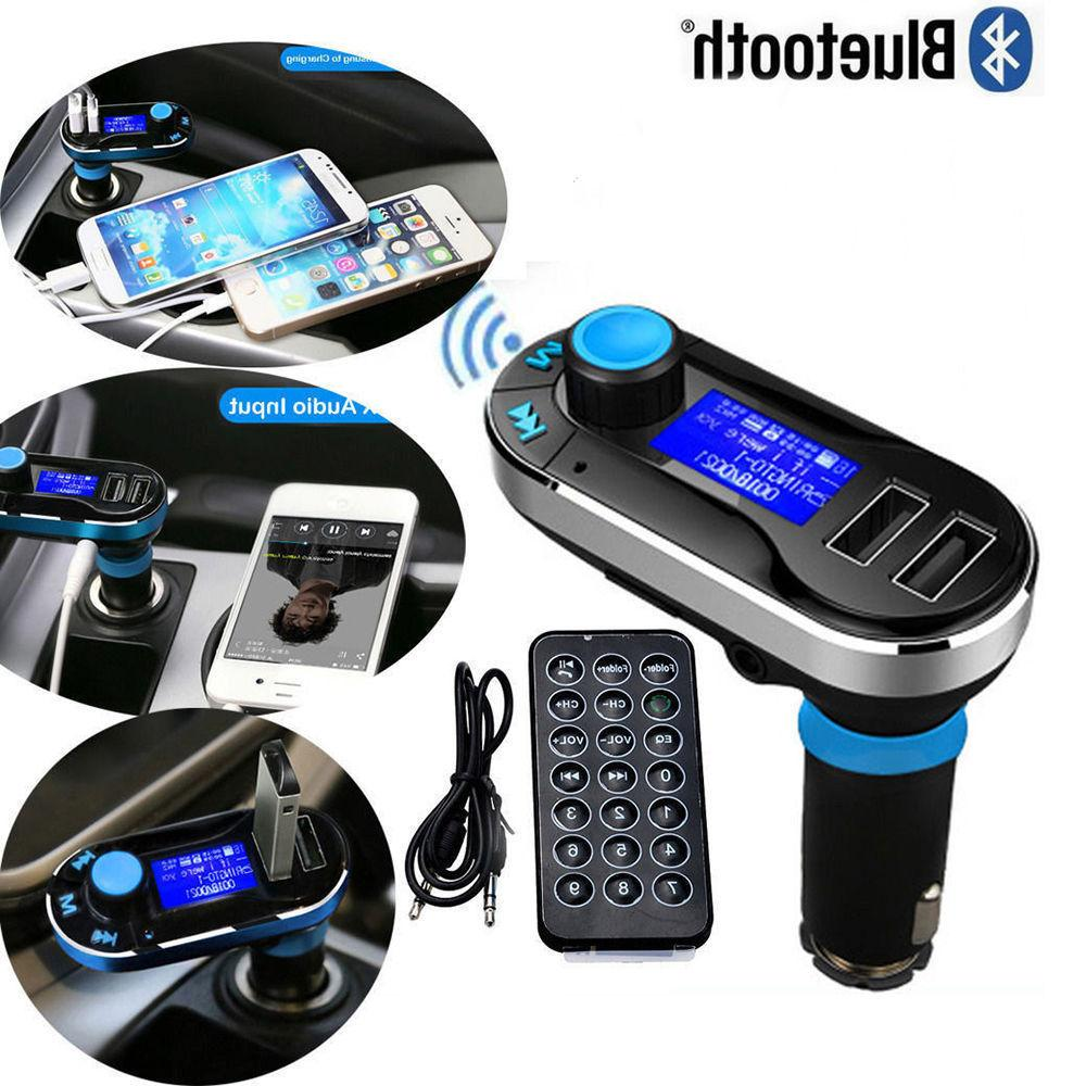 Wireless Car MP3 Hands Radio Adapter USB Charger