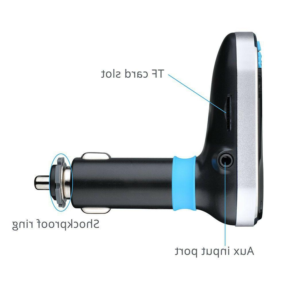 Wireless Car MP3 Player Radio Adapter Charger