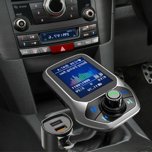Bluetooth Car MP3 free Radio Charger