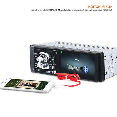 Bluetooth Car inch Stereo HD FM W/Remote 1