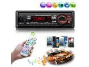 Bluetooth Car Stereo Audio In-Dash FM Radio Aux SD USB MIC M