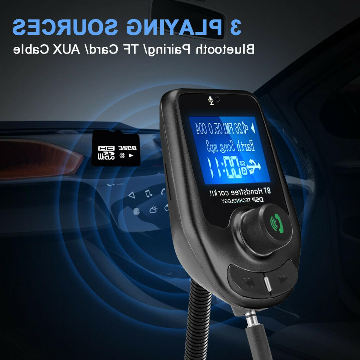 Bluetooth FM Car Transmitter MP3 Radio Charger