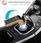 New Bluetooth FM Transmitter MP3 Player USB Car Charger for