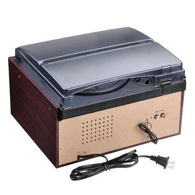 LCD Vinyl Play Music Speaker