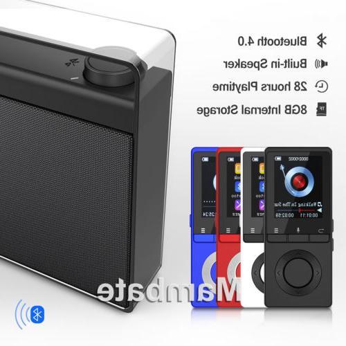 AGPtek Bluetooth Lossless MP3 Music Body Loud
