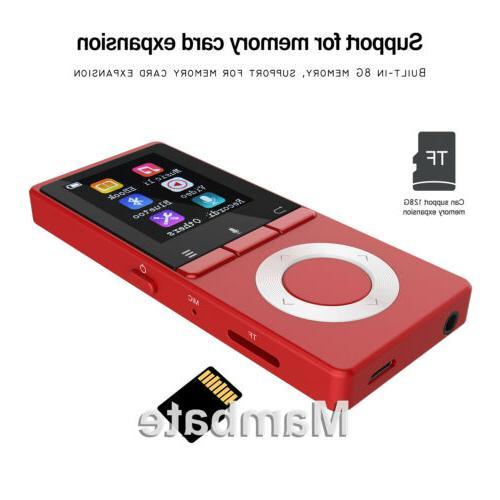 AGPtek Bluetooth Music Player Metal Loud Speaker FM Player