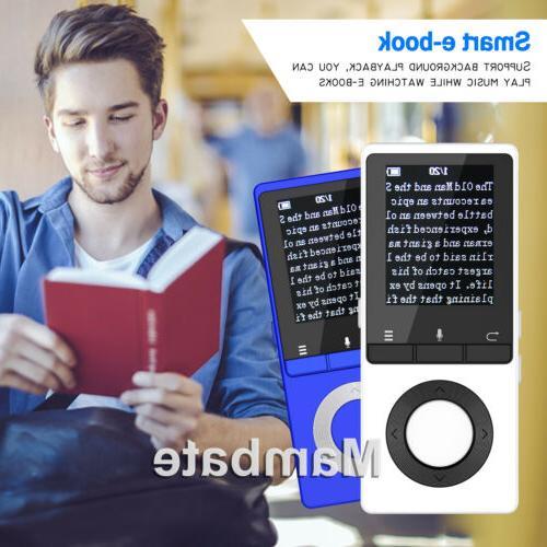 AGPtek Bluetooth Lossless Music Player Metal Loud
