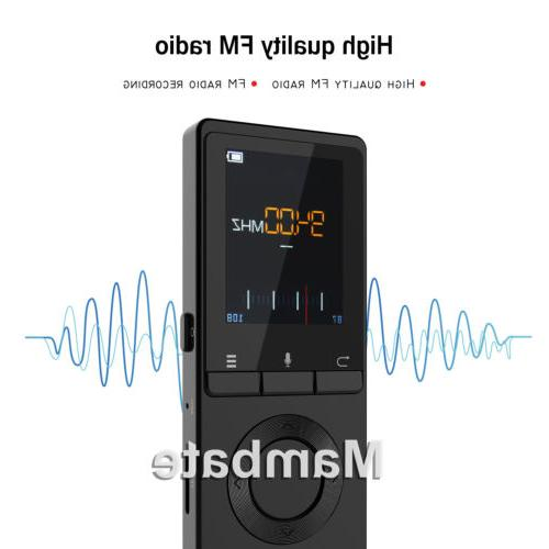 AGPtek Lossless Music Player Metal Loud Speaker FM Player