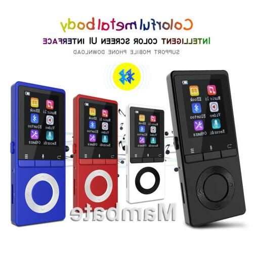 bluetooth lossless mp3 music player metal body