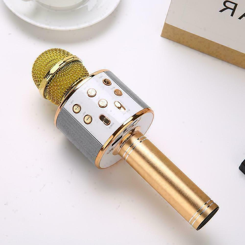 Bluetooth Microphone Handheld Microfone Player M4H0