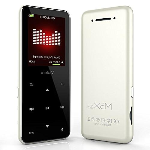 bluetooth mp3 player touch button
