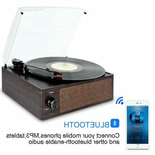 Bluetooth 3-Speed Record