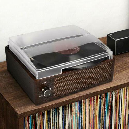 3-Speed Turntable Vintage Record Playe