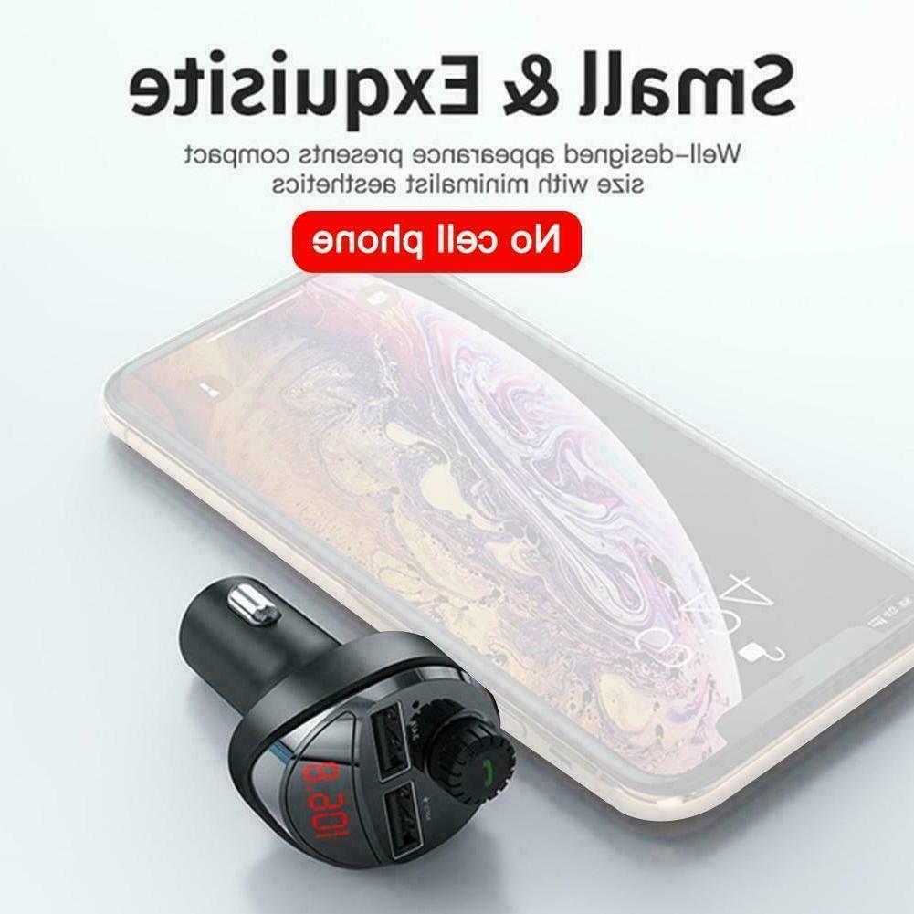 Bluetooth Car MP3 Phone Wireless USB Transmitters