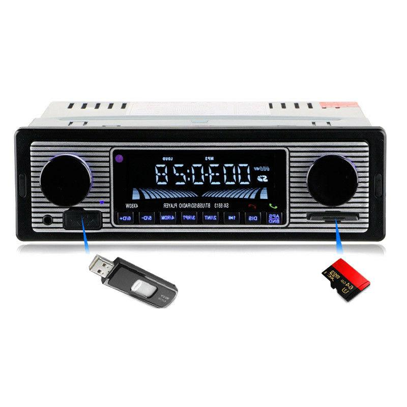 Bluetooth Vintage Radio USB Receiver