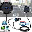 Bluetooth Wireless Car Kit FM Transmitter USB Adapter Handsf